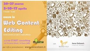 corso web content editing
